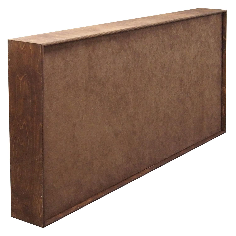 Panel akustyczny, absorber, panel pochłaniający FiberExellent 120cm x 60 cm jasnobrązowy