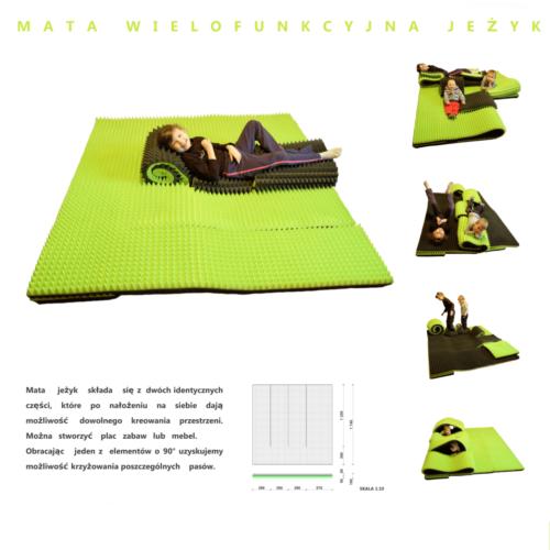 Mata Wielofunkcyjna - Piramidki Akustyczne