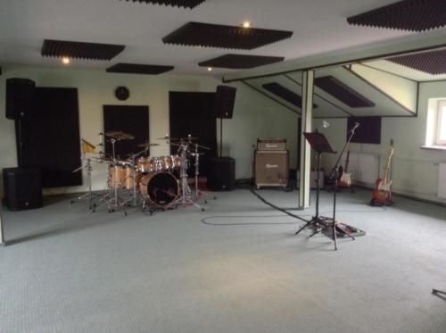 Sala Ćwiczeń Perkusisty - Absorbery Akustyczne